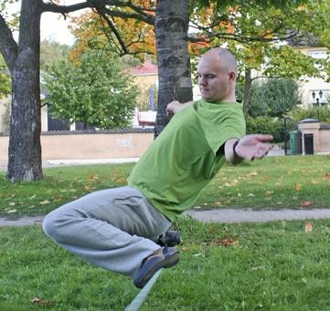 Slakkline – Inte bara en balansträning