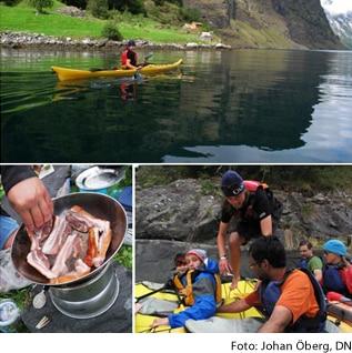 DN peppar kajakpaddling i Norge, I ♥ OUTDOOR diggar!