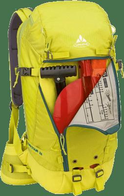 Topptursryggsäck med säkerhet i fokus