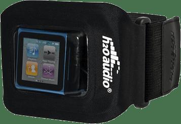 H2O Audio Lanserar Amphibx Fit för nano, ett ultralätt vattentätt sportarmband.