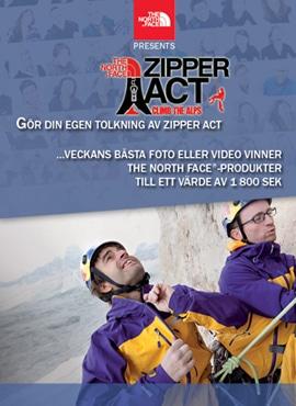 TÄVLING: The North Face är igång med en ny omgång av Zipper Act