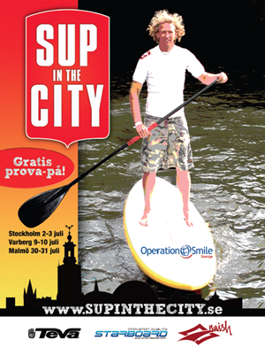 SUP in the city
