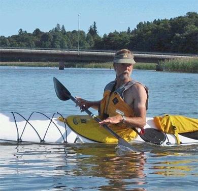 Nigel Foster – En av världens främsta kajakpaddlare kommer till Västerås
