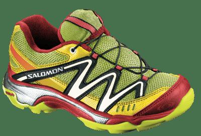 Funktionella skor från Salomon för barn i rörelse